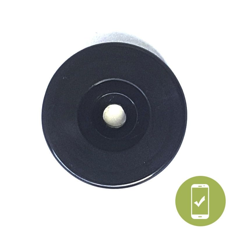 30 MM ROUND NFC ONMETAL ADHESIVE +SCREW TAG - NTAG213